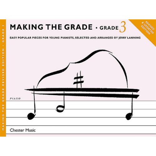 CHESTER MUSIC MAKING THE GRADE GRADE THREE REVISED EDITION - PIANO SOLO