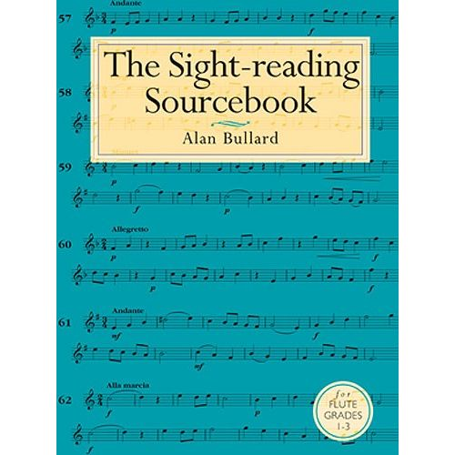 CHESTER MUSIC BULLARD ALAN - THE SIGHT-READING SOURCEBOOK FOR FLUTE GRADES 1-3 - FLUTE