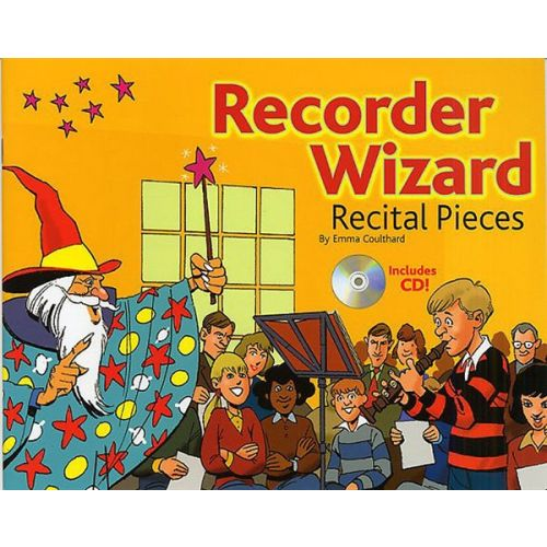 CHESTER MUSIC RECORDER WIZARD RECITAL PIECES PUPIL'S BOOK + CD - RECORDER