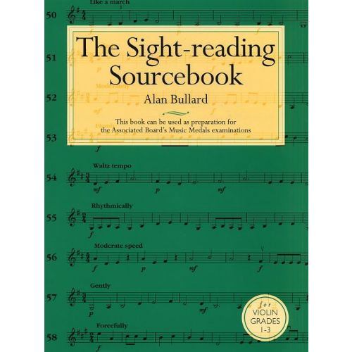 CHESTER MUSIC THE SIGHT-READING SOURCE BOOK VIOLIN GRADE 1 VLN - GRADES 1 - 3 - VIOLIN
