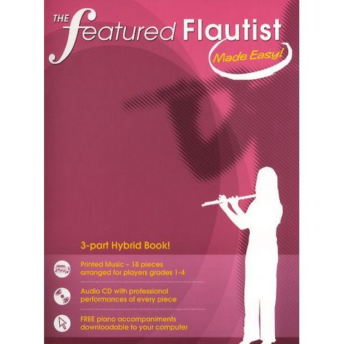 CHESTER MUSIC THE FEATURED FLAUTIST MADE EASY! - FLUTE