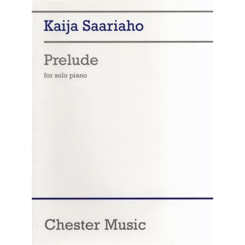 CHESTER MUSIC PRELUDE - PIANO SOLO