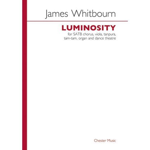 CHESTER MUSIC JAMES WHITBOURN - JAMES WHITBOURN - LUMINOSITY - VIOLA