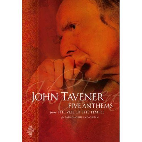 CHESTER MUSIC TAVENER JOHN - VEIL OF THE TEMPLE ANTHEMS TAVENER - SATB