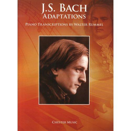 CHESTER MUSIC RUMMELL WALTER - JS BACH ADAPTATIONS PIANO TRANSCRIPTIONS - PIANO SOLO