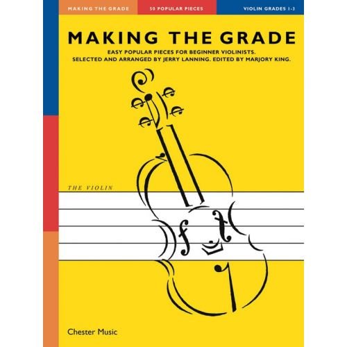 CHESTER MUSIC MAKING THE GRADE OMNIBUS EDITION - THE VIOLIN GRADES 1-3