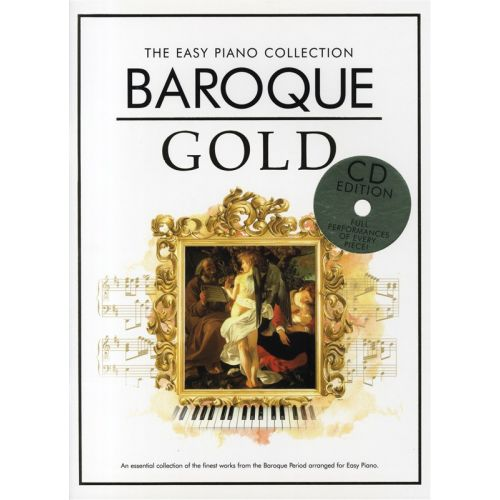 CHESTER MUSIC THE EASY PIANO COLLECTION - BAROQUE GOLD - PIANO SOLO