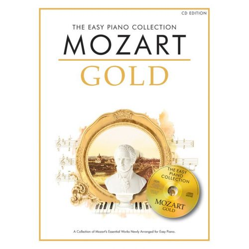 CHESTER MUSIC MOZART - THE EASY PIANO COLLECTION - MOZART GOLD - PIANO SOLO