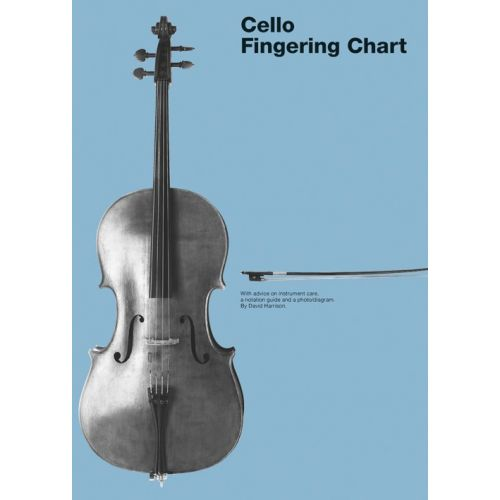 CHESTER MUSIC CELLO FINGERING CHART - CELLO
