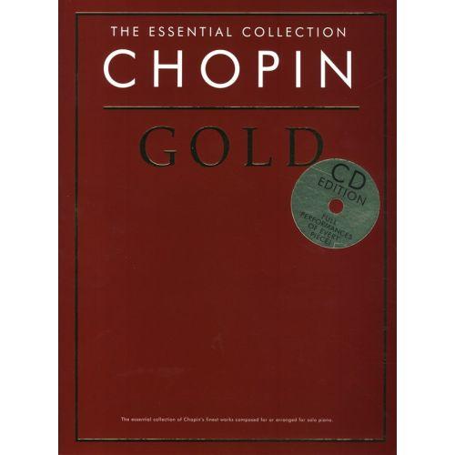 CHESTER MUSIC EIN DUTZEND AM TAG - BUCH 3 - FÜR FORTGESCHRITTENE - CHOPIN GOLD - PIANO SOLO