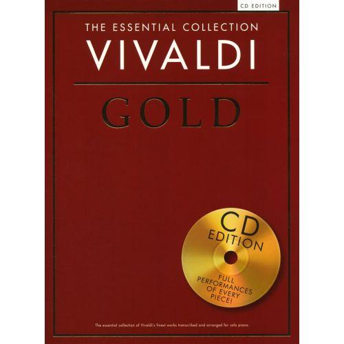 CHESTER MUSIC VIVALDI - THE ESSENTIAL COLLECTION - VIVALDI GOLD - PIANO SOLO