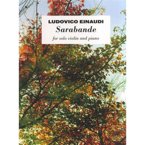 CHESTER MUSIC EINAUDI - SARABANDE - VIOLIN
