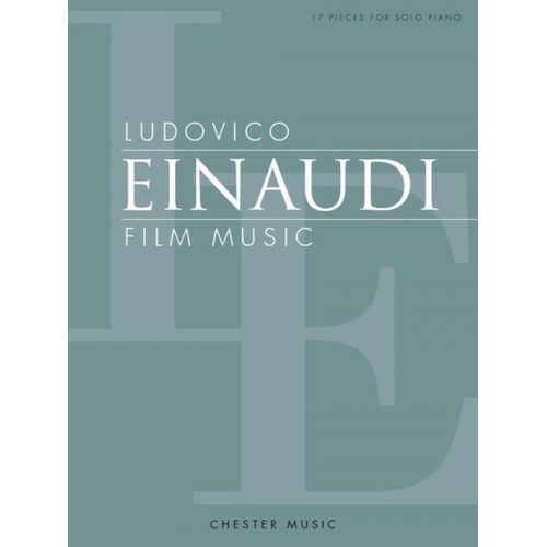CHESTER MUSIC EINAUDI LUDOVICO - FILM MUSIC - PIANO