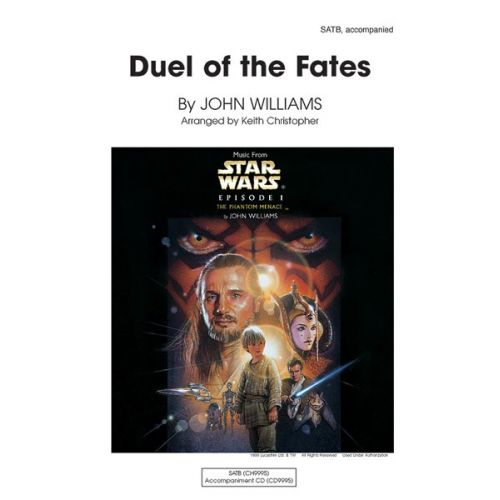 ALFRED PUBLISHING WILLIAMS JOHN - DUEL OF THE FATES - MIXED VOICES