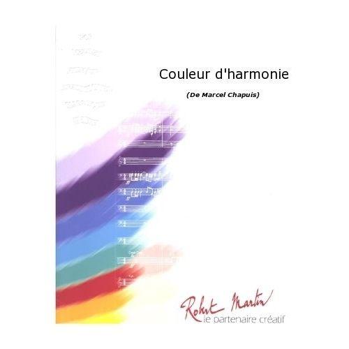 ROBERT MARTIN CHAPUIS M. - COULEUR D'HARMONIE