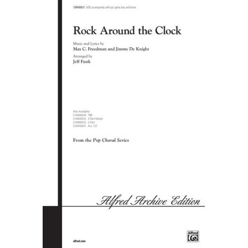 ALFRED PUBLISHING ROCK AROUND THE CLOCK - MIXED VOICES