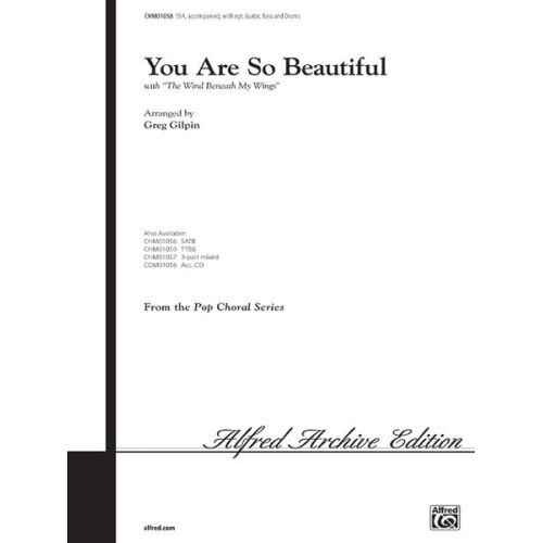 ALFRED PUBLISHING YOU ARE SO BEAUTIFUL - MIXED VOICES