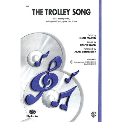 ALFRED PUBLISHING TROLLEY SONG THE - MIXED VOICES