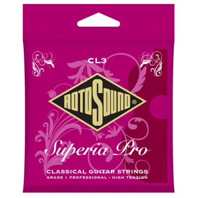 ROTOSOUND SUPERIA PRO CLASSICAL GUITAR STRINGS HIGH TENSION