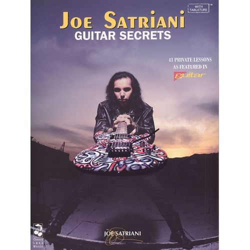 CHERRY LANE JOE SATRIANI GUITAR SECRETS - GUITAR TAB