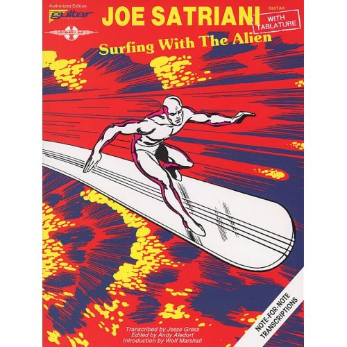 CHERRY LANE PLAY IT LIKE IT IS GUITAR JOE SATRIANI SURFING WITH THE ALIEN - GUITAR TAB