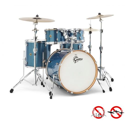 GRETSCH DRUMS CM1-E825-AS - CATALINA MAPLE 2014 FUSION ROCK 22 - 10 - 12 - 16TB - 22GC - 14x6.5