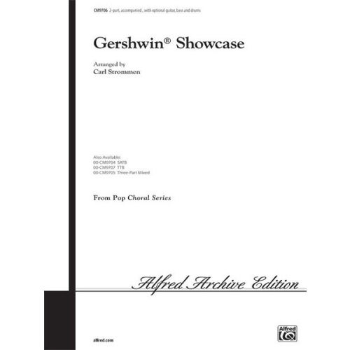 ALFRED PUBLISHING GERSHWIN GEORGE - GERSHWIN SHOWCASE - MIXED VOICES