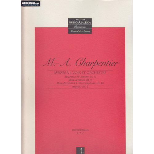 CMBV CHARPENTIER M.A. - MESSES VOL. 2