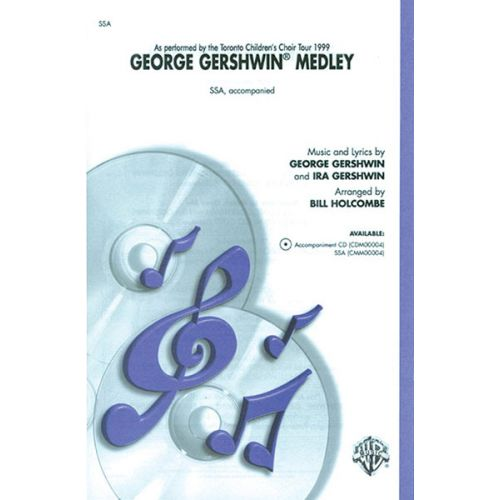 ALFRED PUBLISHING GERSHWIN GEORGE - GEORGE GERSHWIN MEDLEY - MIXED VOICES