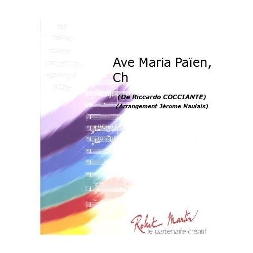 ROBERT MARTIN COCCIANTE R. - NAULAIS J. - AVE MARIA PAÏEN, CHANT/CHOEUR