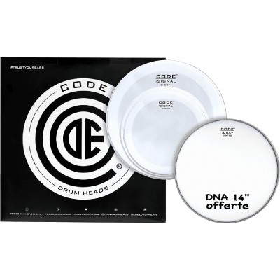 CODE DRUM HEAD TOM PACK SIGNAL SMOOTH ROCK + CC 14