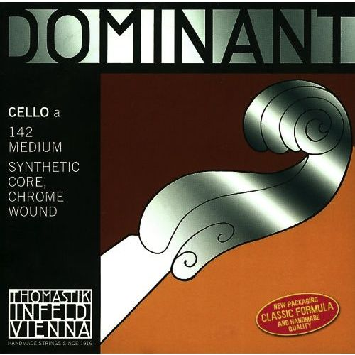 THOMASTIK DOMINANT 1/2 CELLO SATZ MEDIUM TENSION 147