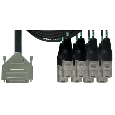 subD 25/XLR cable