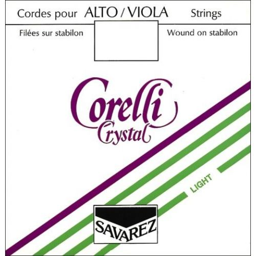 SAVAREZ CORELLI CRYSTAL VIOLA A STRING MEDIUM TENSION