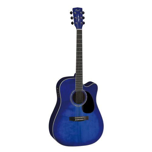 CORT MR710F TRANSLUCENT BLUE BURST