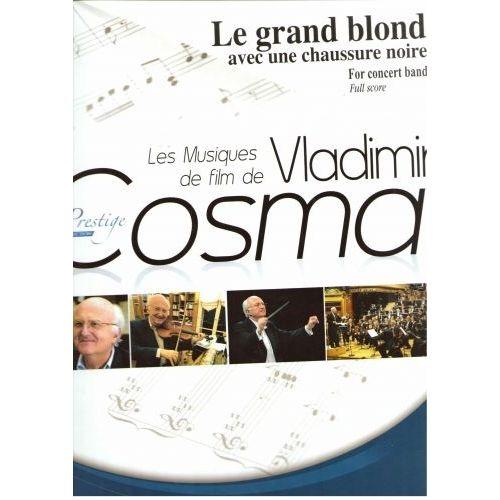 ROBERT MARTIN COSMA V. - LE GRAND BLOND AVEC UNE CHAUSSURE NOIRE