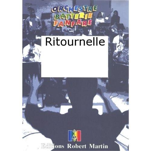 ROBERT MARTIN COUTURIER J.L. - RITOURNELLE