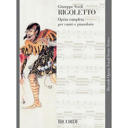 RICORDI VERDI G. - RIGOLETTO - CHANT ET PIANO