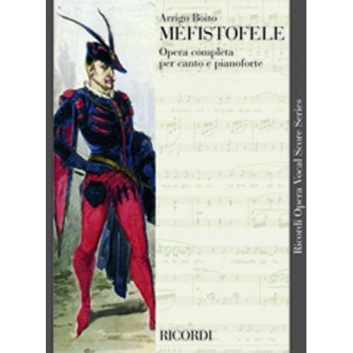 RICORDI BOITO A. - MEFISTOFELE - CHANT ET PIANO