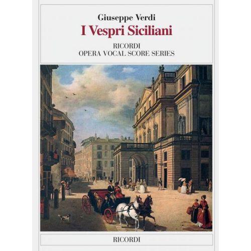 RICORDI VERDI G. - VESPRI SICILIANI - CHANT ET PIANO