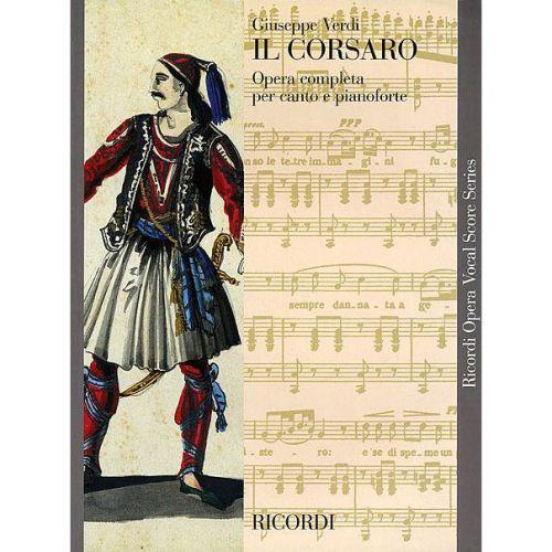 RICORDI VERDI G. - IL CORSARO - CHANT ET PIANO