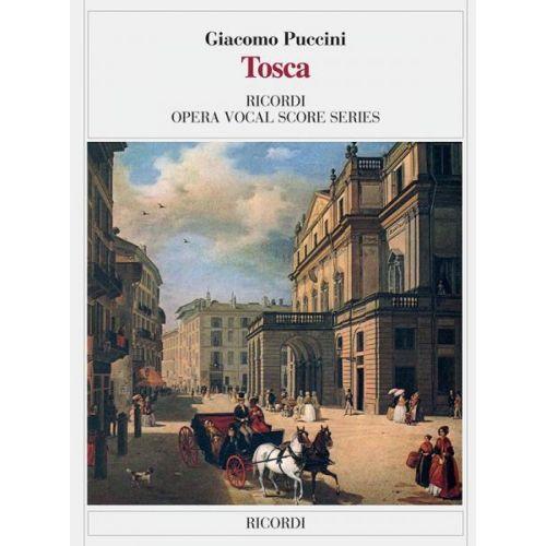 RICORDI PUCCINI G. - TOSCA - CHANT ET PIANO