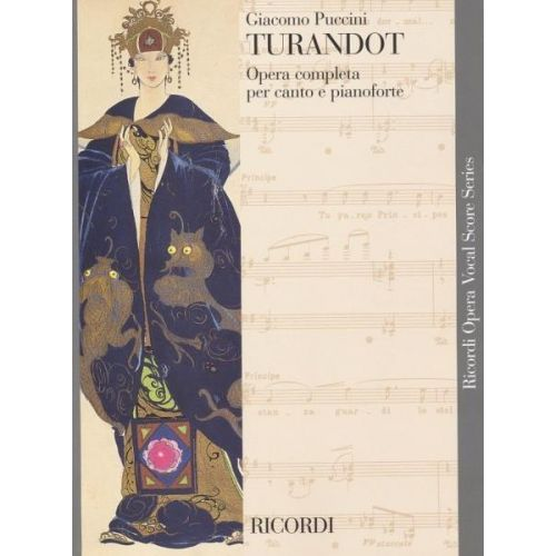 RICORDI PUCCINI G. - TURANDOT TESTO ITALIANO - CHANT ET PIANO