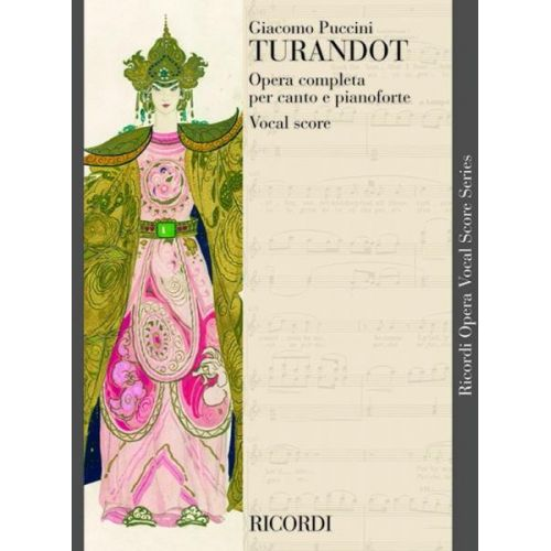 RICORDI PUCCINI G. - TURANDOT - CHANT ET PIANO
