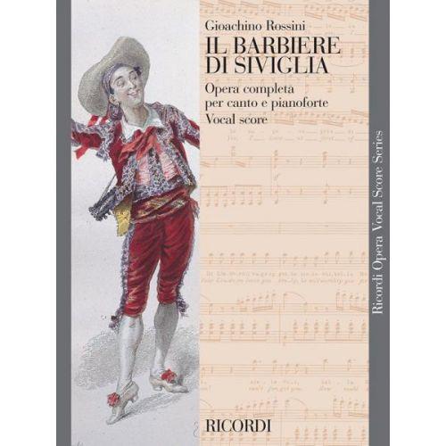 RICORDI ROSSINI - IL BARBIERE DI SIVIGLIA - VOCAL SCORE