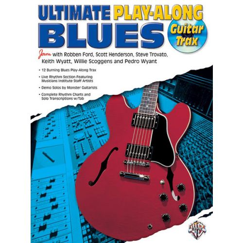 ALFRED PUBLISHING ULTIMATE BLUES PLAY-ALONG - GUITAR