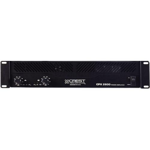 CREST CPX2600 2 X 500W / 8 OHMS