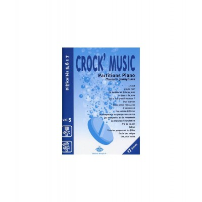 EDITIONS BOURGES R. CROCK'MUSIC - PIANO