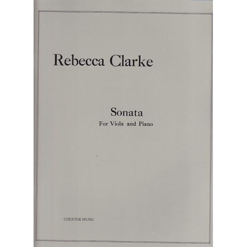 CHESTER MUSIC CLARKE R. - SONATA FOR VIOLA AND PIANO