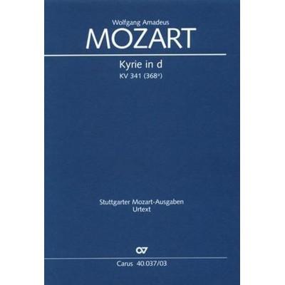 CARUS MOZART W.A. - KYRIE IN D KV341 - VOCAL SCORE